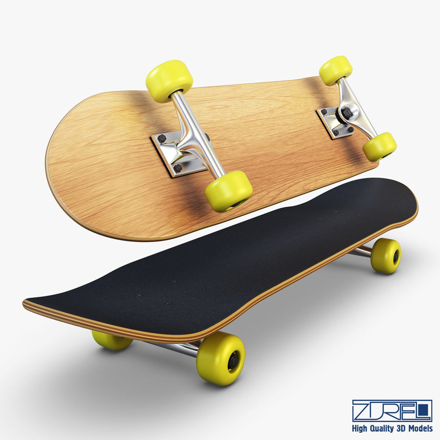 9a611014de3 Skateboard v 2 3D Model $27 - .unknown .obj .fbx .max - Free3D