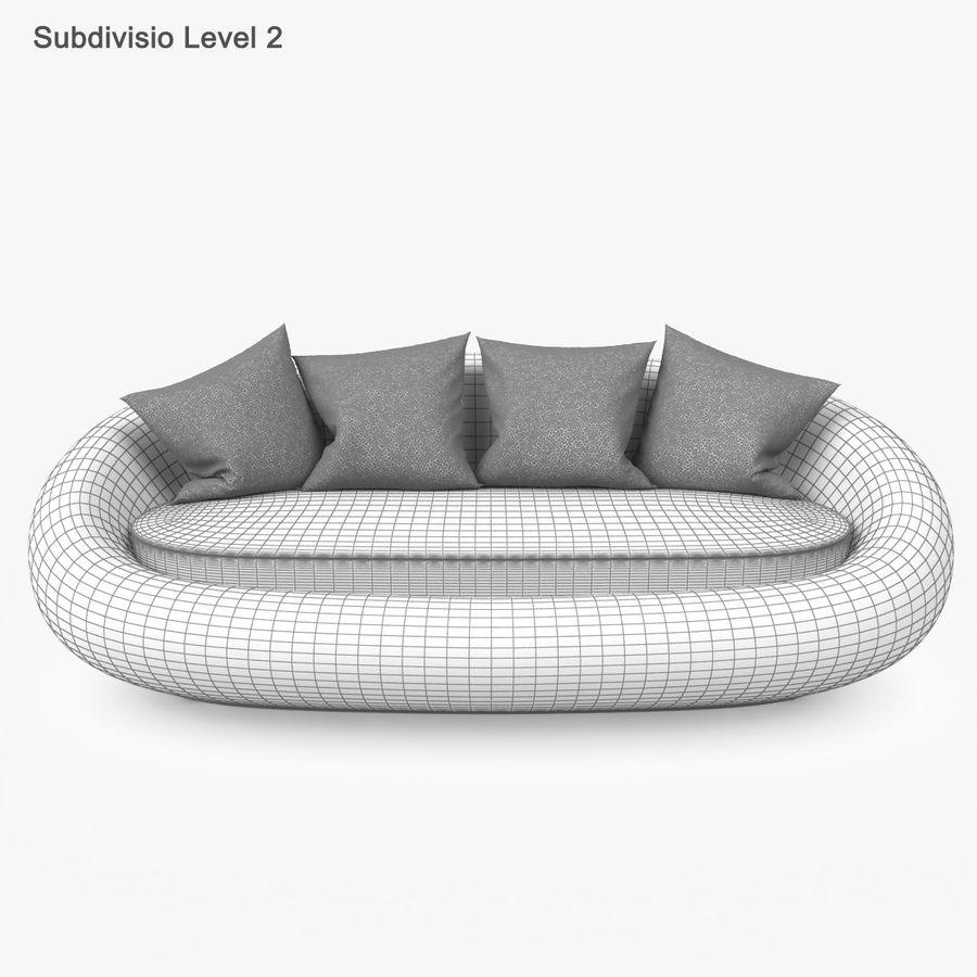Rattan Furniture Kiwi royalty-free 3d model - Preview no. 48