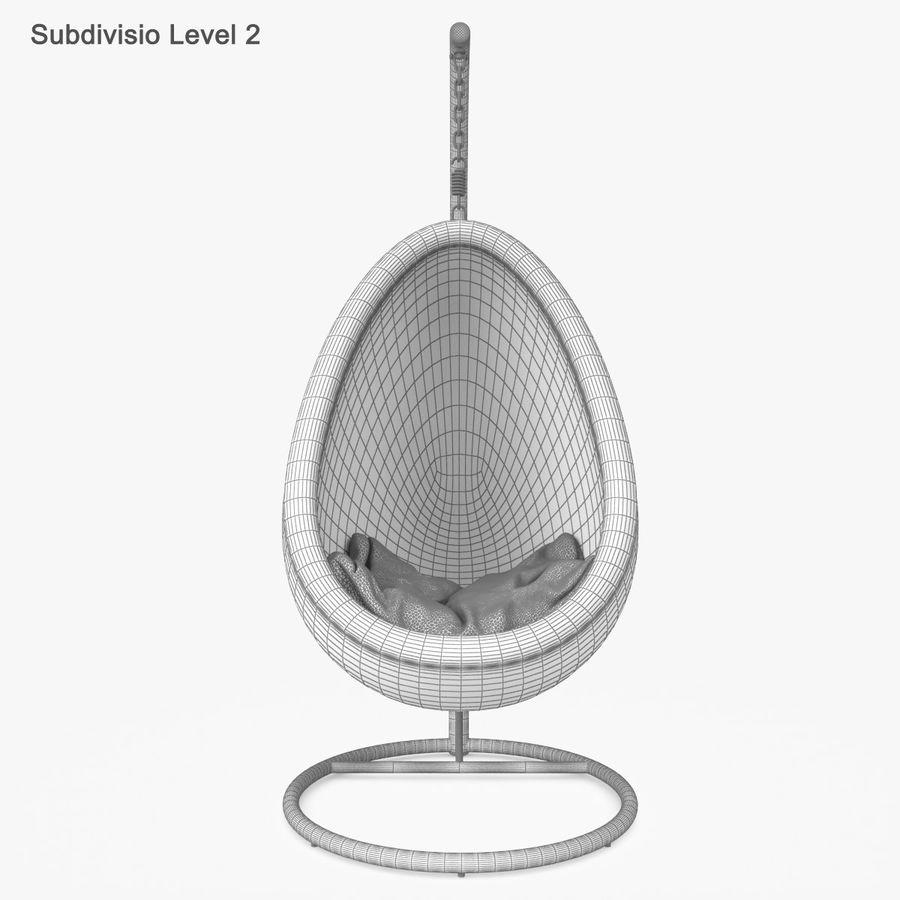 Rattan Furniture Kiwi royalty-free 3d model - Preview no. 51