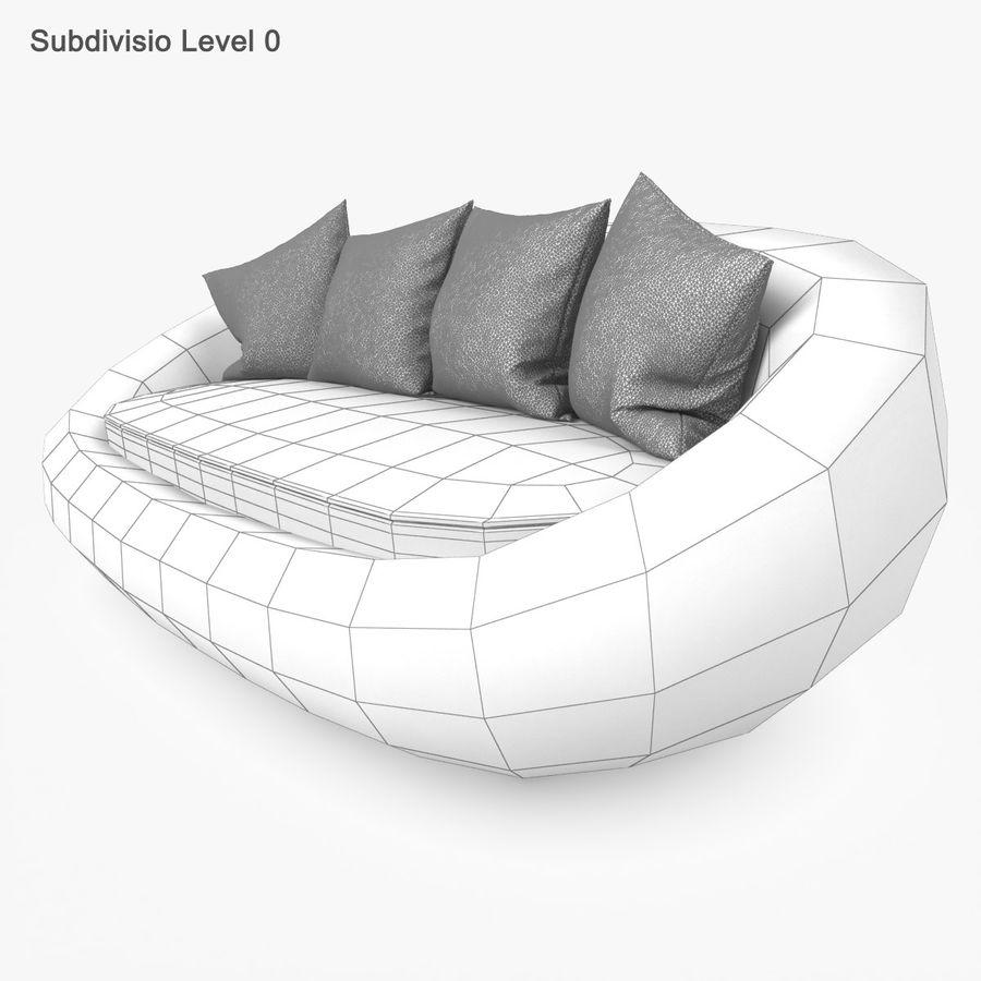 Rattan Furniture Kiwi royalty-free 3d model - Preview no. 30
