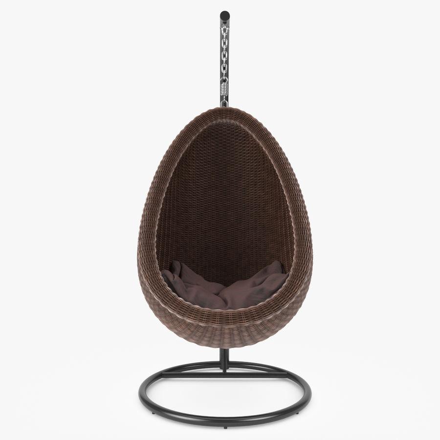 Rattan Furniture Kiwi royalty-free 3d model - Preview no. 8