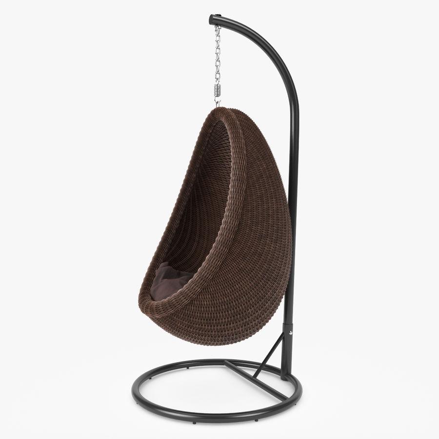 Rattan Furniture Kiwi royalty-free 3d model - Preview no. 10