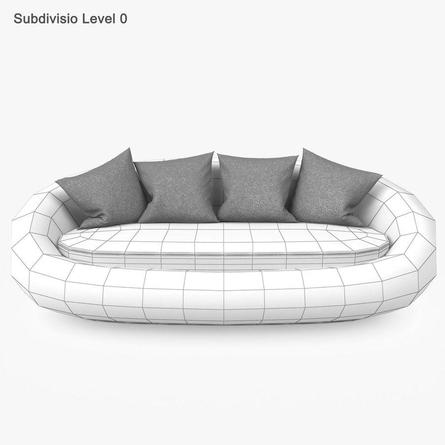 Rattan Furniture Kiwi royalty-free 3d model - Preview no. 28