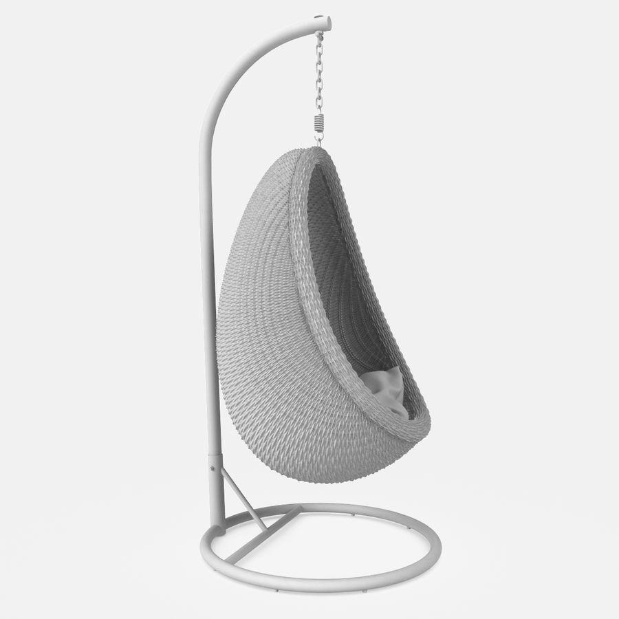 Rattan Furniture Kiwi royalty-free 3d model - Preview no. 21