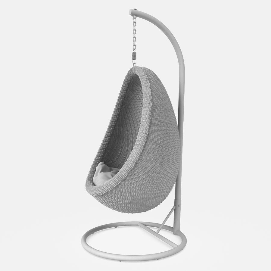 Rattan Furniture Kiwi royalty-free 3d model - Preview no. 22