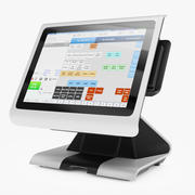Terminal POS EverServ 7000 3d model