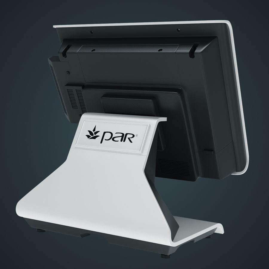 POS-Terminal EverServ 7000 royalty-free 3d model - Preview no. 15