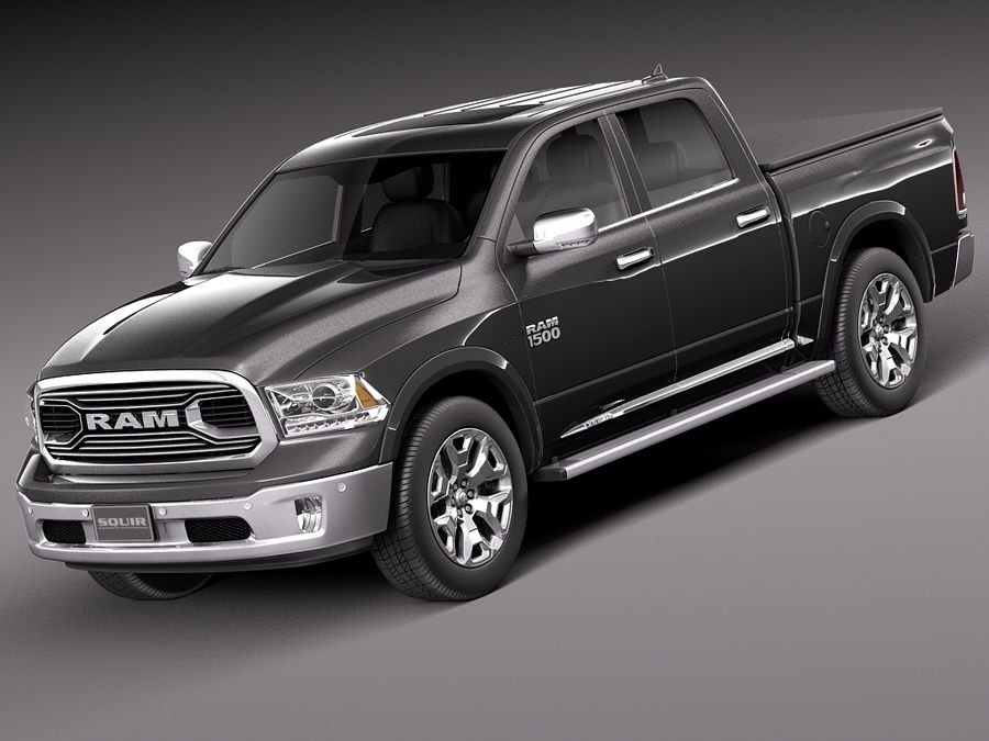 Dodge Ram 1500 Laramie Limited 2015 3D Model $129 - .obj .max .lwo ...