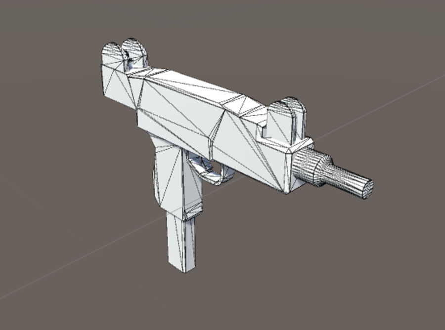 SPS Mobile Weapons Pack # 1 royalty-free 3d model - Preview no. 40