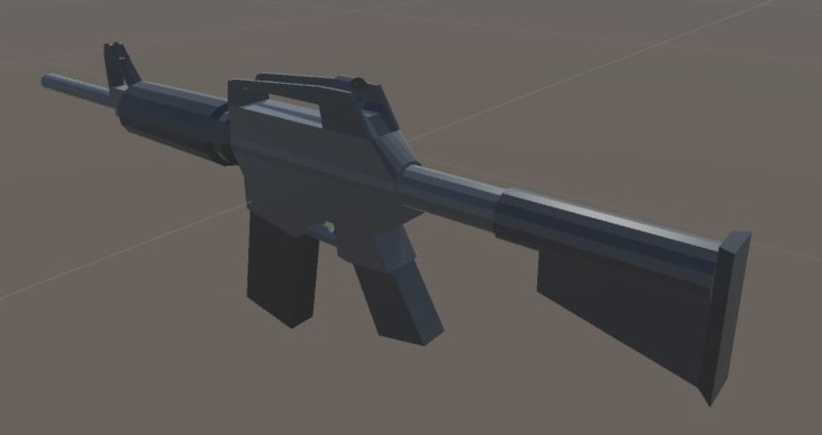 SPS Mobile Weapons Pack # 1 royalty-free 3d model - Preview no. 21