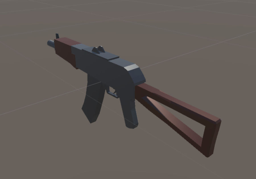 SPS Mobile Weapons Pack # 1 royalty-free 3d model - Preview no. 9