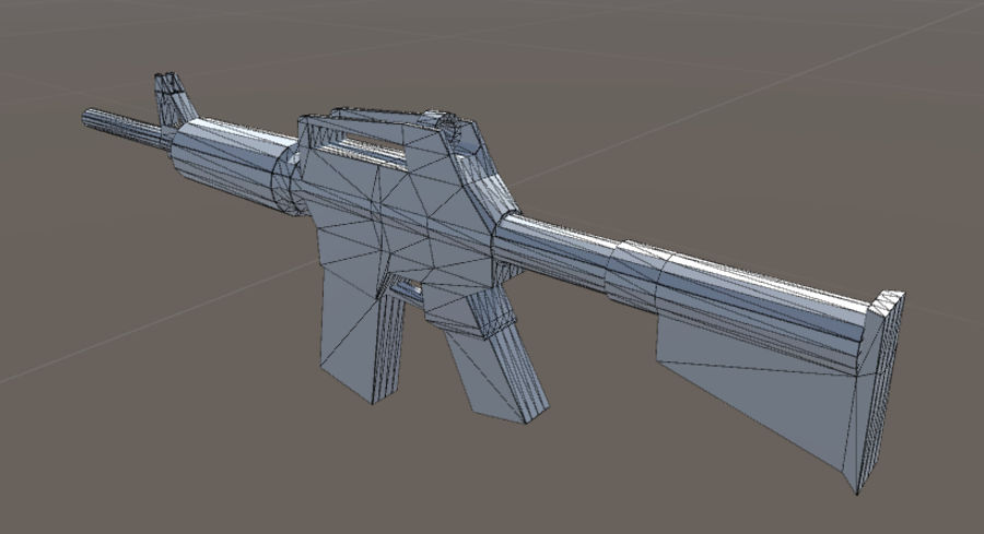 SPS Mobile Weapons Pack # 1 royalty-free 3d model - Preview no. 22