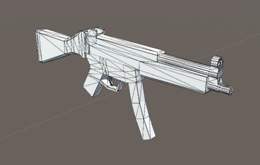 SPS Mobile Weapons Pack # 1 royalty-free 3d model - Preview no. 28
