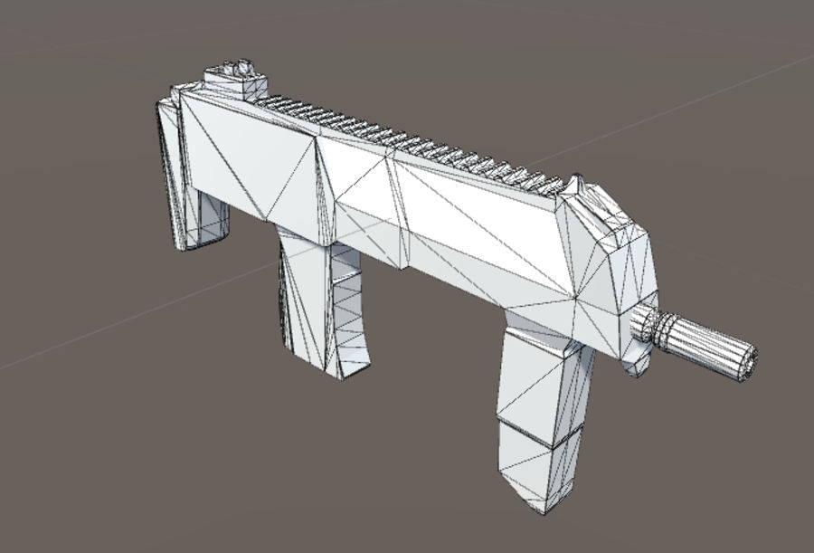 SPS Mobile Weapons Pack # 1 royalty-free 3d model - Preview no. 32
