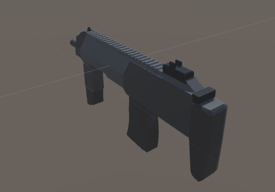 SPS Mobile Weapons Pack # 1 royalty-free 3d model - Preview no. 33
