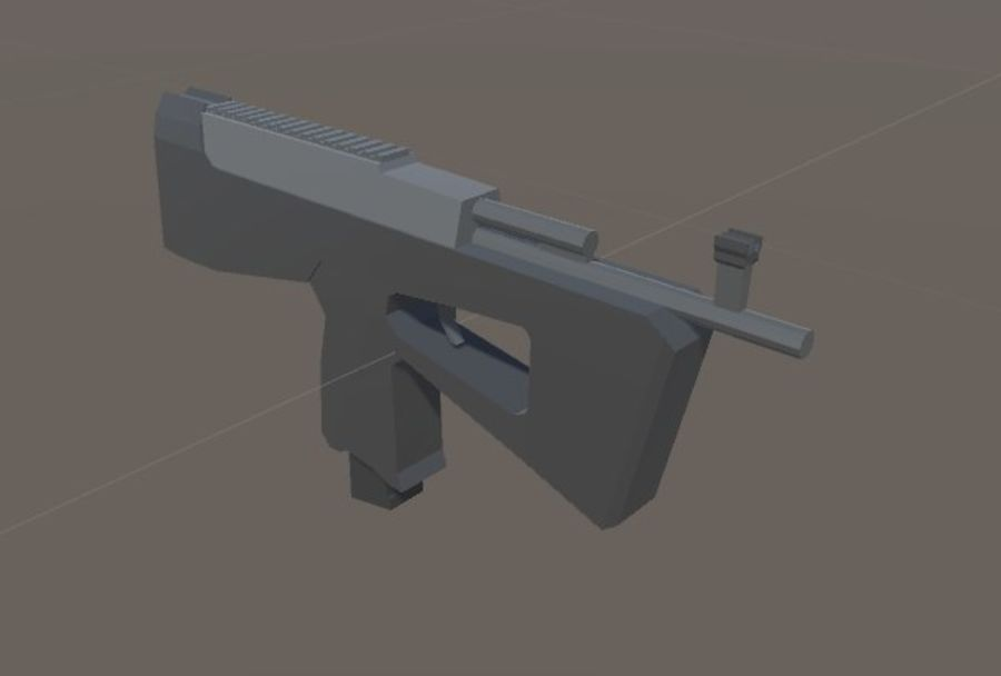 SPS Mobile Weapons Pack # 1 royalty-free 3d model - Preview no. 35