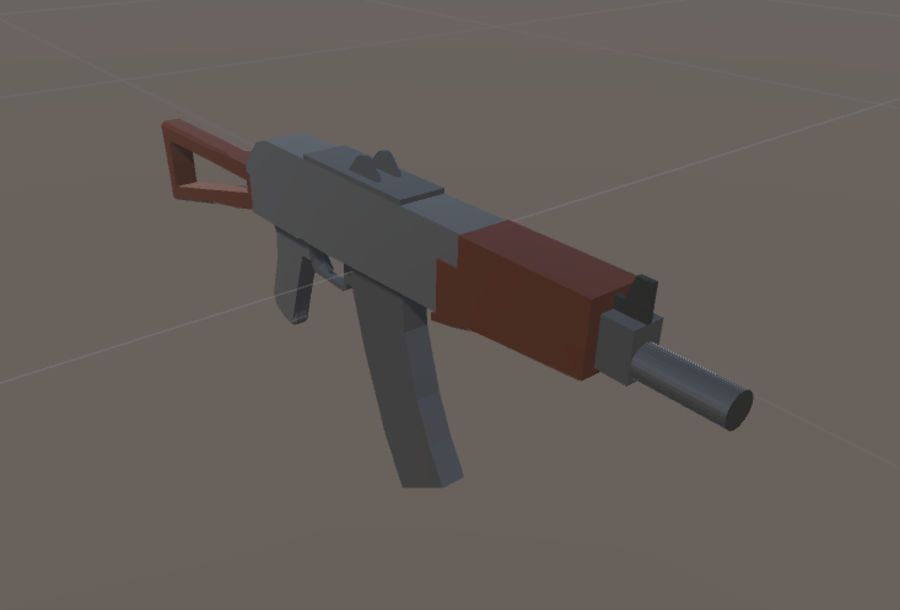 SPS Mobile Weapons Pack # 1 royalty-free 3d model - Preview no. 7