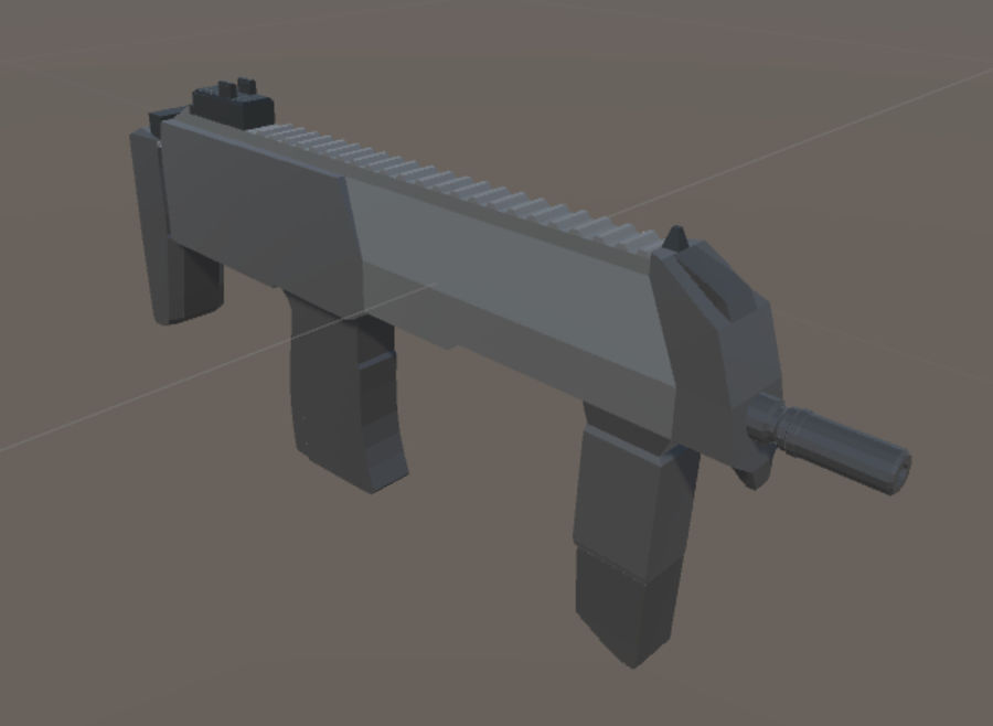 SPS Mobile Weapons Pack # 1 royalty-free 3d model - Preview no. 31