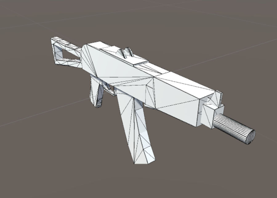 SPS Mobile Weapons Pack # 1 royalty-free 3d model - Preview no. 8