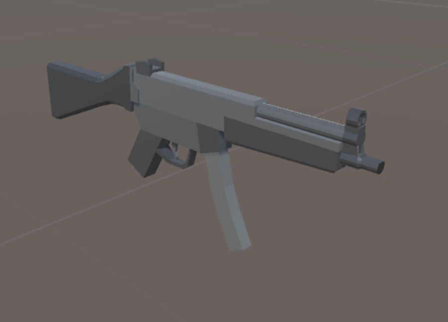 SPS Mobile Weapons Pack # 1 royalty-free 3d model - Preview no. 27