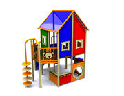Playground Playhouse 3d model