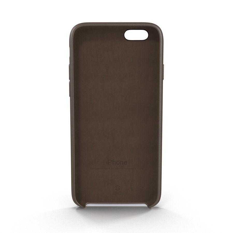 Capa em Pele MAIS para iPhone 6 Plus royalty-free 3d model - Preview no. 4