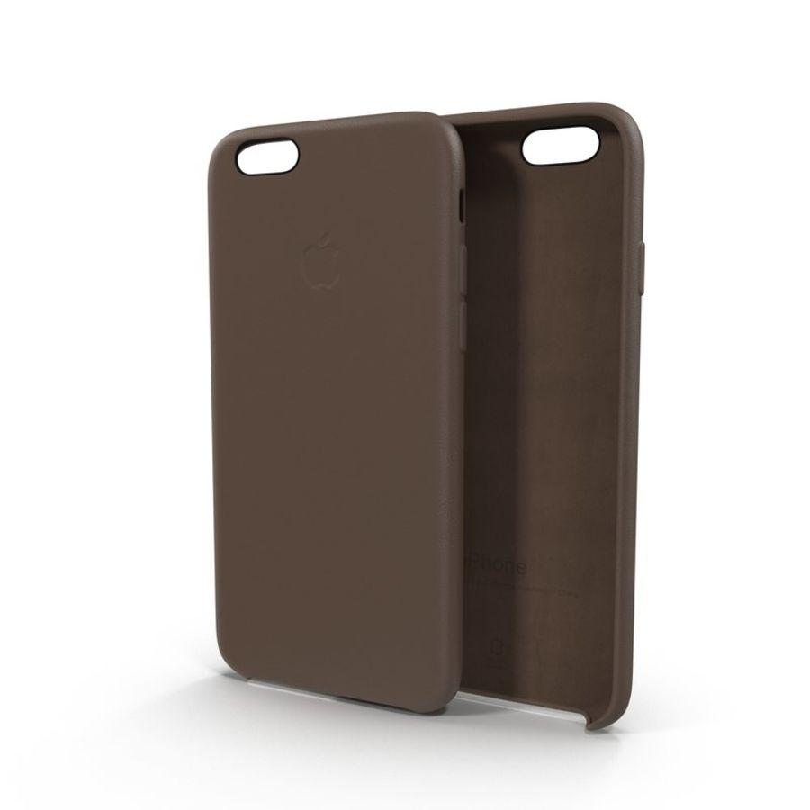Capa em Pele MAIS para iPhone 6 Plus royalty-free 3d model - Preview no. 2