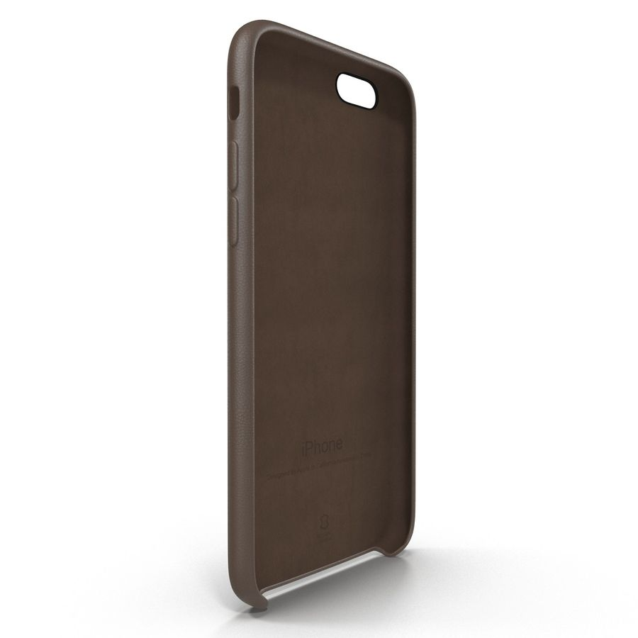 Capa em Pele MAIS para iPhone 6 Plus royalty-free 3d model - Preview no. 7