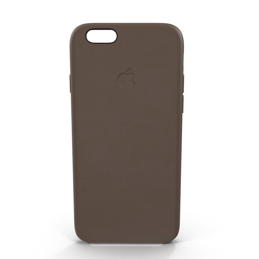 Capa em Pele MAIS para iPhone 6 Plus royalty-free 3d model - Preview no. 3