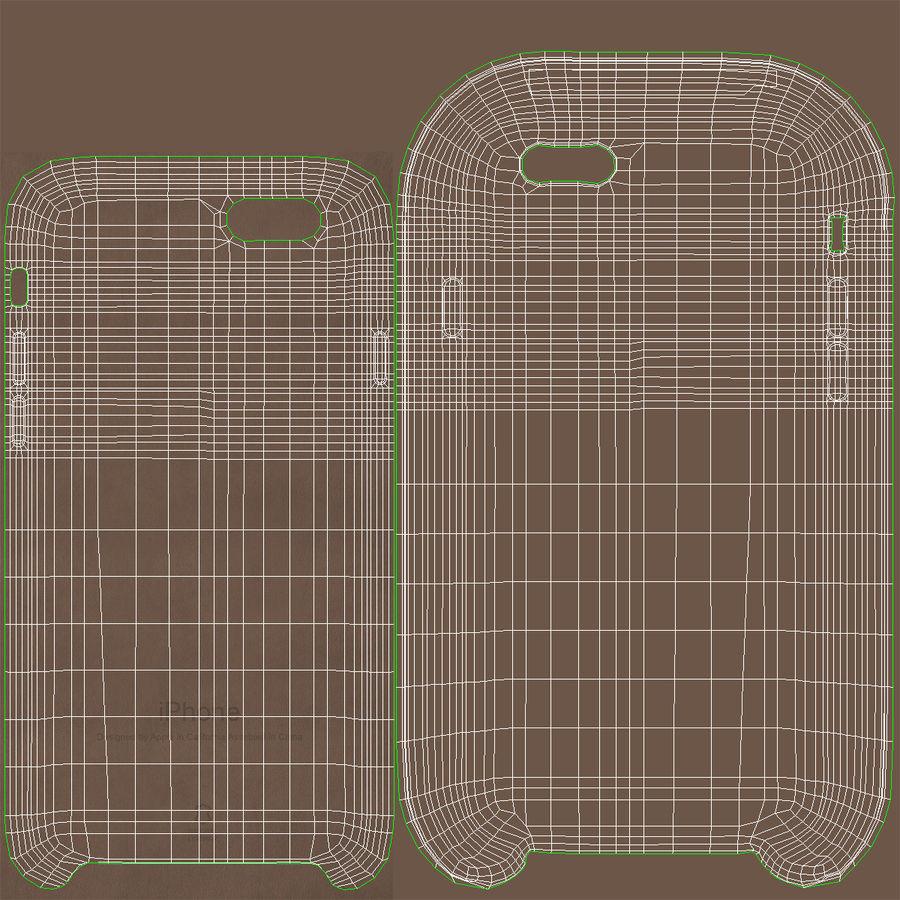 Capa em Pele MAIS para iPhone 6 Plus royalty-free 3d model - Preview no. 19