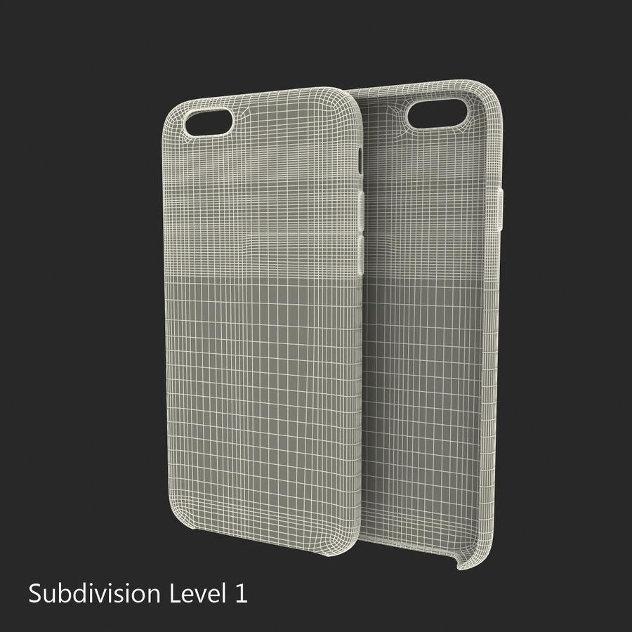 Capa em Pele MAIS para iPhone 6 Plus royalty-free 3d model - Preview no. 18