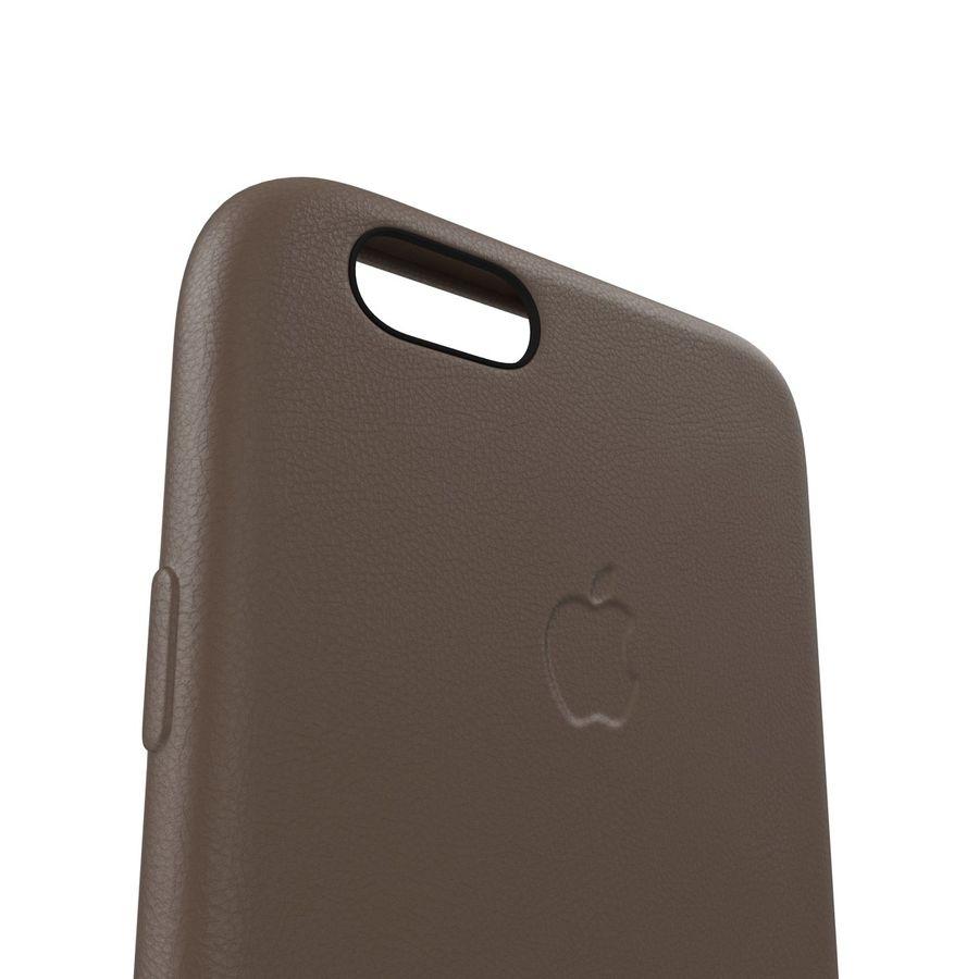 Capa em Pele MAIS para iPhone 6 Plus royalty-free 3d model - Preview no. 8