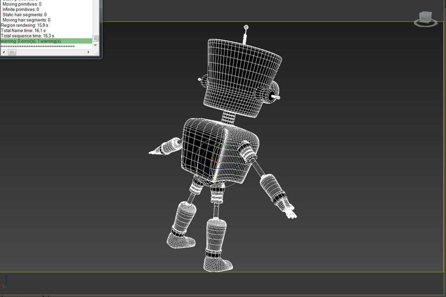 Robot royalty-free 3d model - Preview no. 9