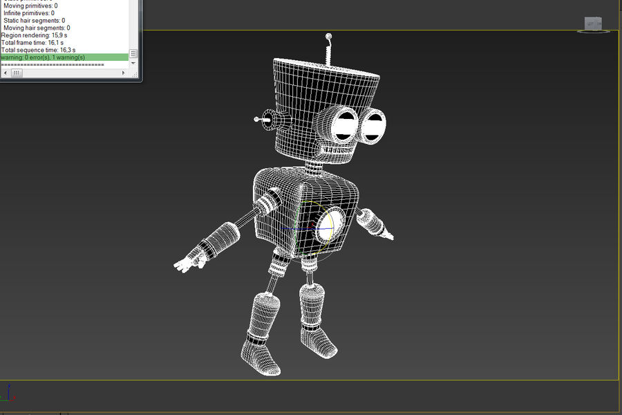 Robot royalty-free 3d model - Preview no. 10