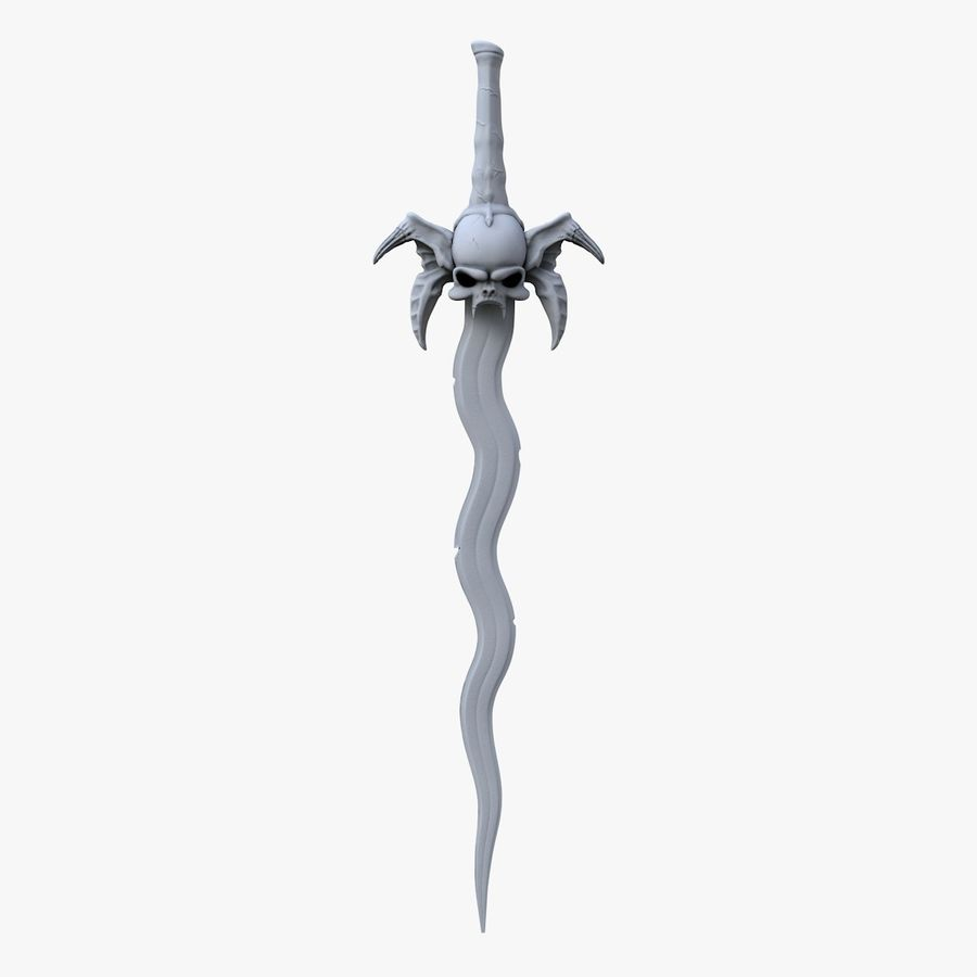 Sword Soul Reave for 3d printing royalty-free 3d model - Preview no. 2
