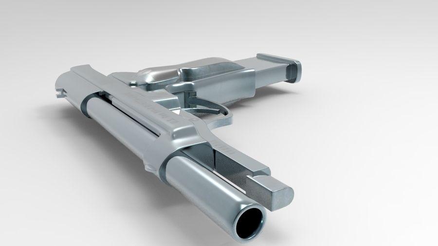 M9 Beretta royalty-free 3d model - Preview no. 5