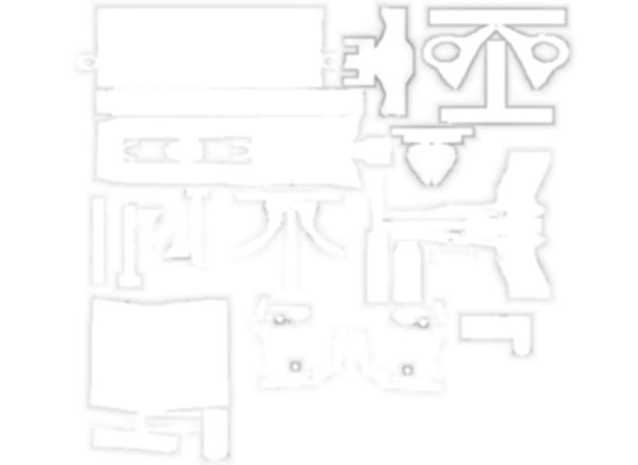 M9贝雷塔 royalty-free 3d model - Preview no. 11
