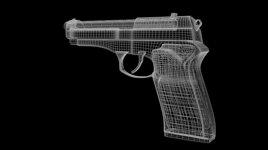 M9 Beretta royalty-free 3d model - Preview no. 6