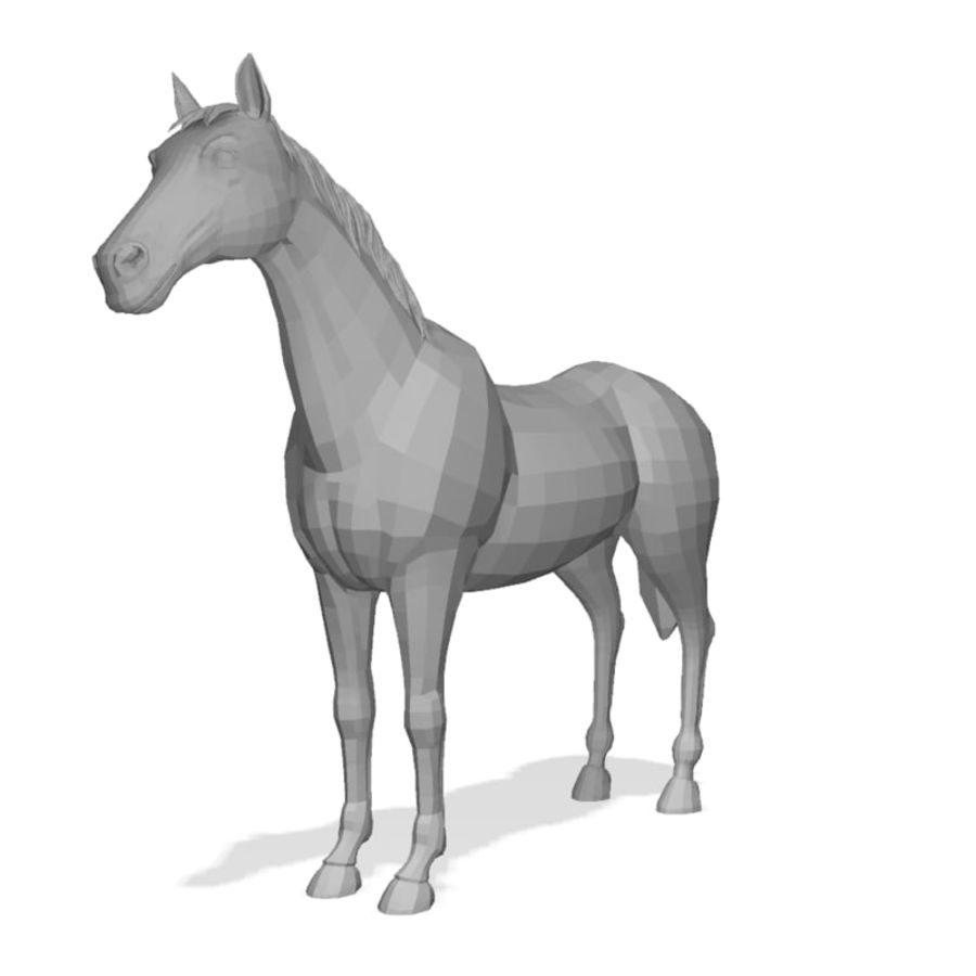 Horse royalty-free 3d model - Preview no. 1