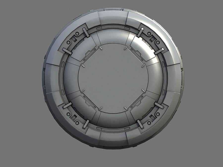 barrel royalty-free 3d model - Preview no. 4