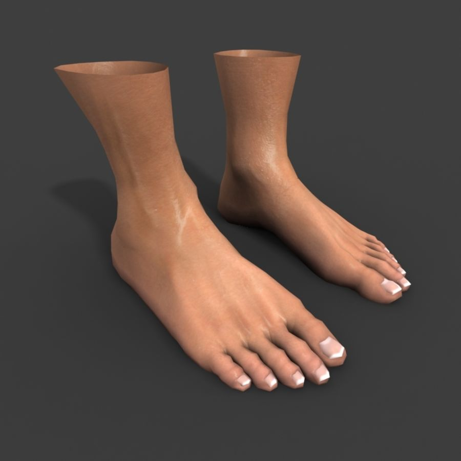 Foot royalty-free 3d model - Preview no. 2