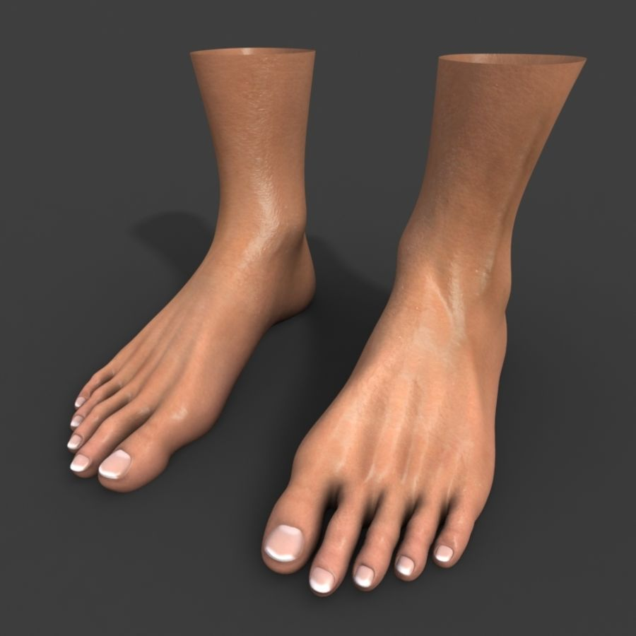 Foot royalty-free 3d model - Preview no. 1