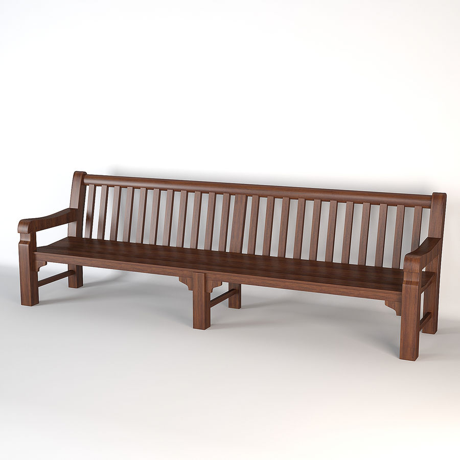 Bench Mendip Eichholtz royalty-free 3d model - Preview no. 1