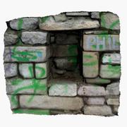 Stone Niche 3d model