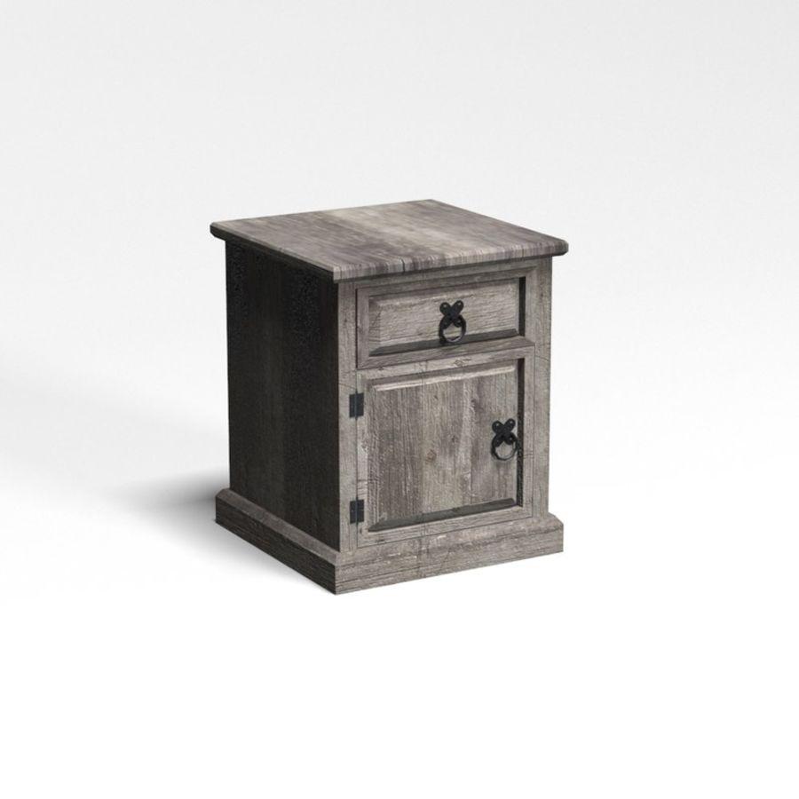 Collection de meubles de chambre royalty-free 3d model - Preview no. 10