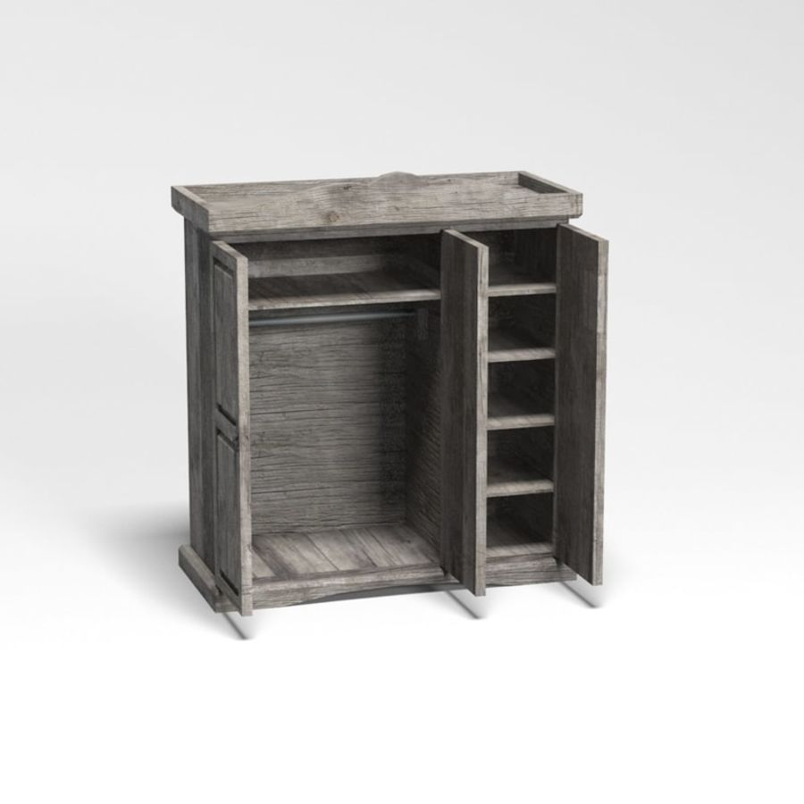 Collection de meubles de chambre royalty-free 3d model - Preview no. 33