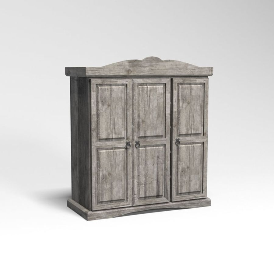 Collection de meubles de chambre royalty-free 3d model - Preview no. 31