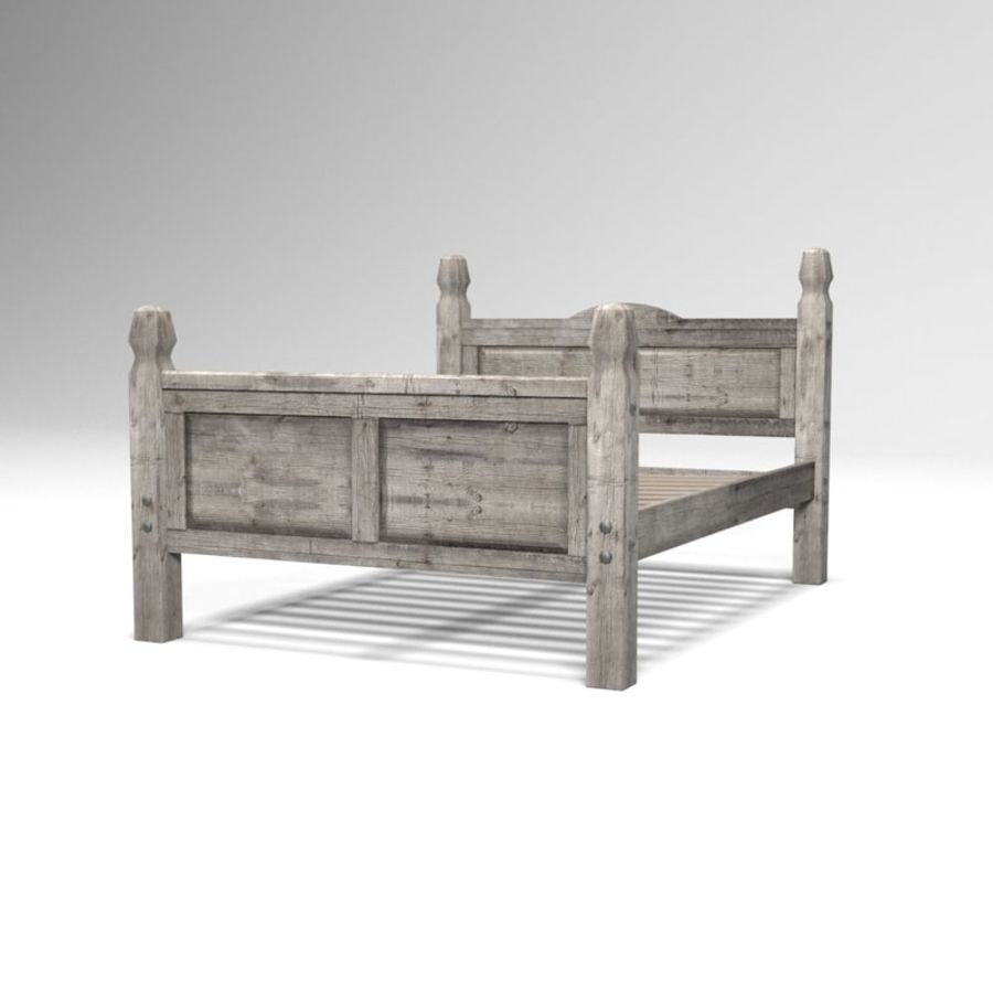 Collection de meubles de chambre royalty-free 3d model - Preview no. 5