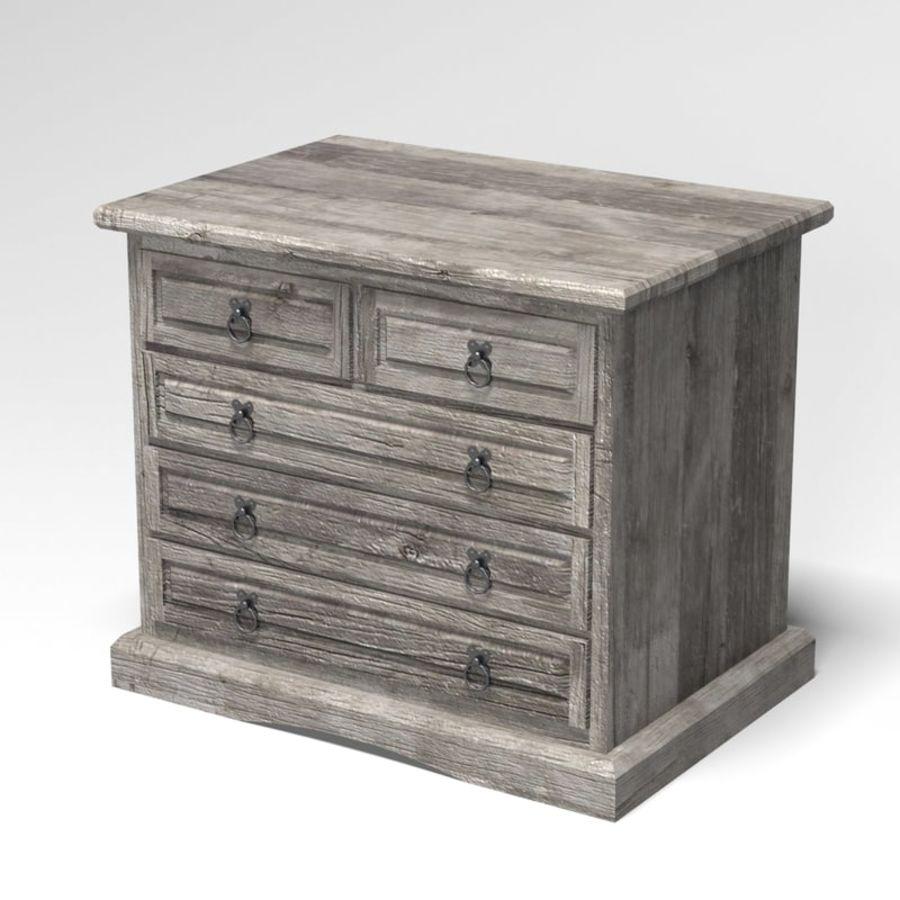 Collection de meubles de chambre royalty-free 3d model - Preview no. 18