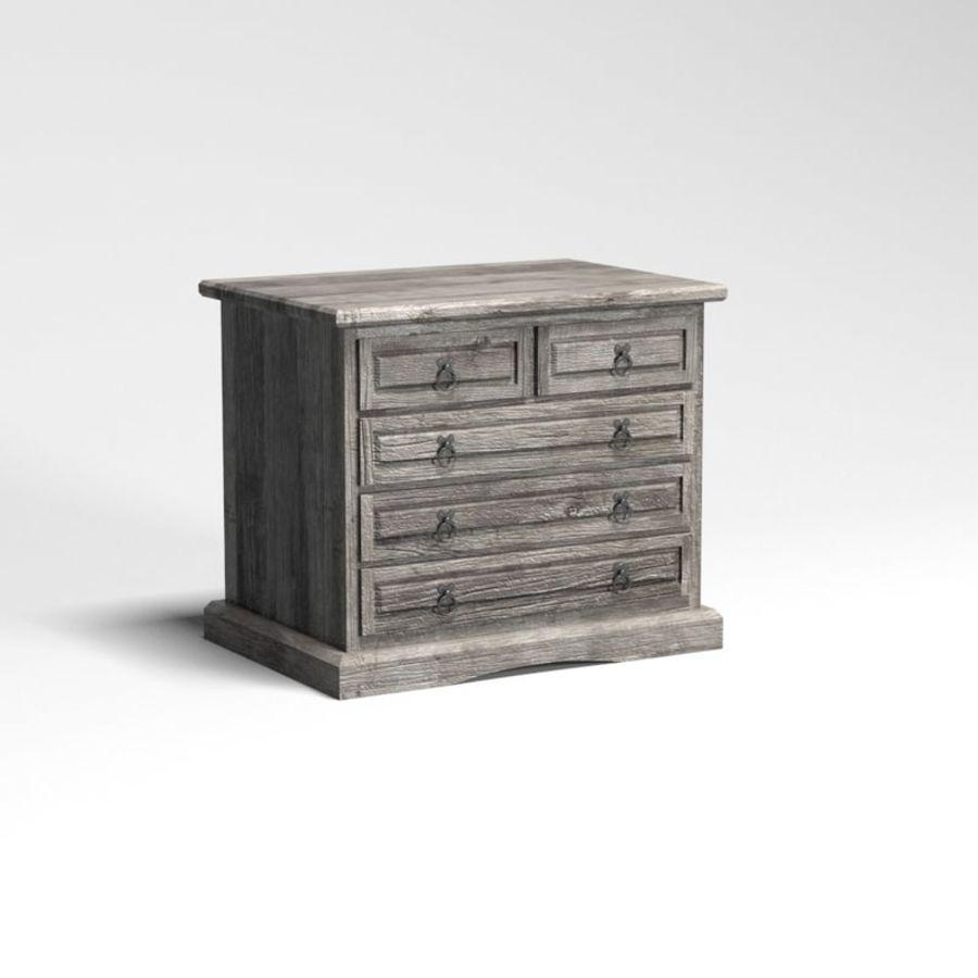 Collection de meubles de chambre royalty-free 3d model - Preview no. 20